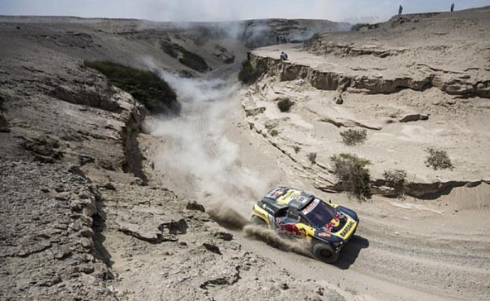 Леб одержал победу на восьмом этапе «Дакара», в зачете грузовиков сменился лидер