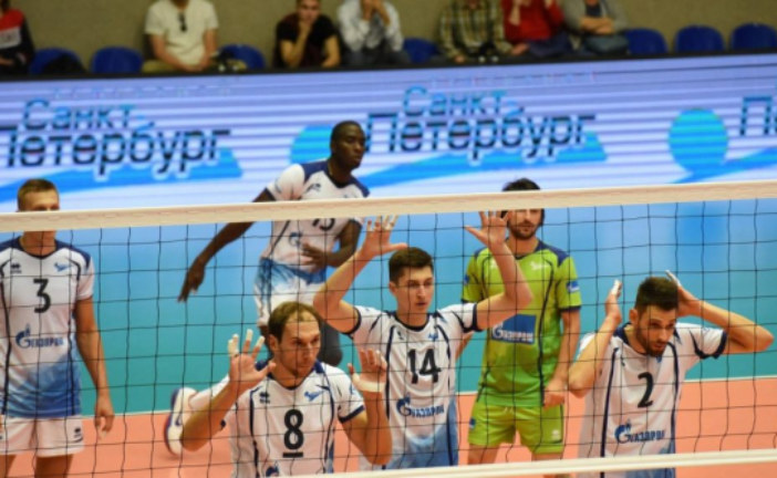 Уже в эту субботу волейбольный «Зенит» проведет первый матч в чемпионате России