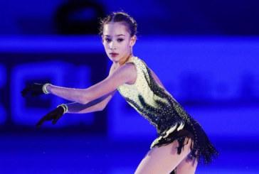 Софья Акатьева выиграла короткую программу Гран-при среди юниоров