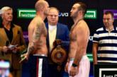 22 июля Гассиев и Валлиш проведут боксерский поединок в Москве